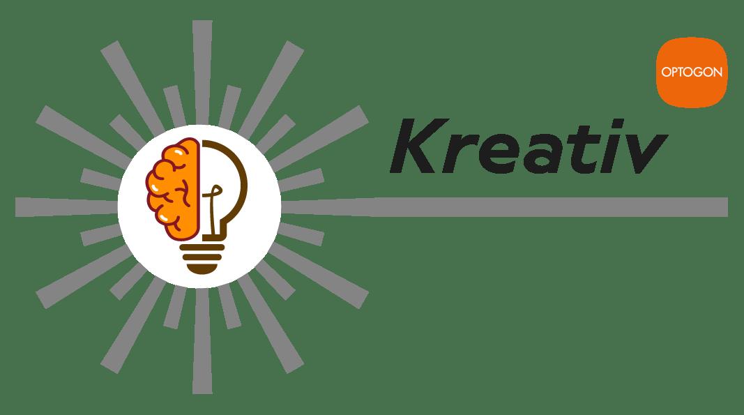 OPTOGON Keyvisual für Kreativität