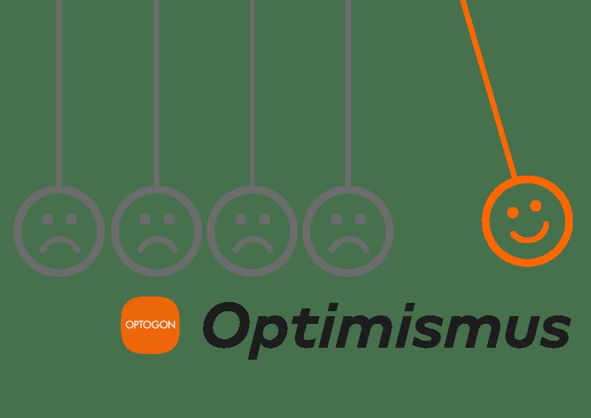 OPTOGON Keyvisual für Optimismus