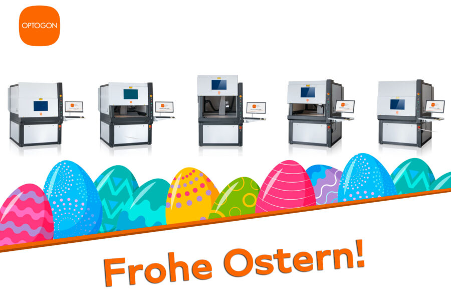 Frohe Ostern 2021 mit OPTOGON!