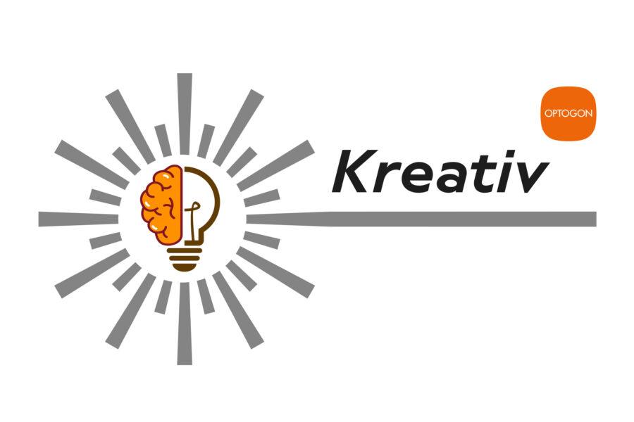 OPTOGON Kreativ - Das OPTOGON Keyvisual für die strukturierte Kreativleistung bei OPTOGON.