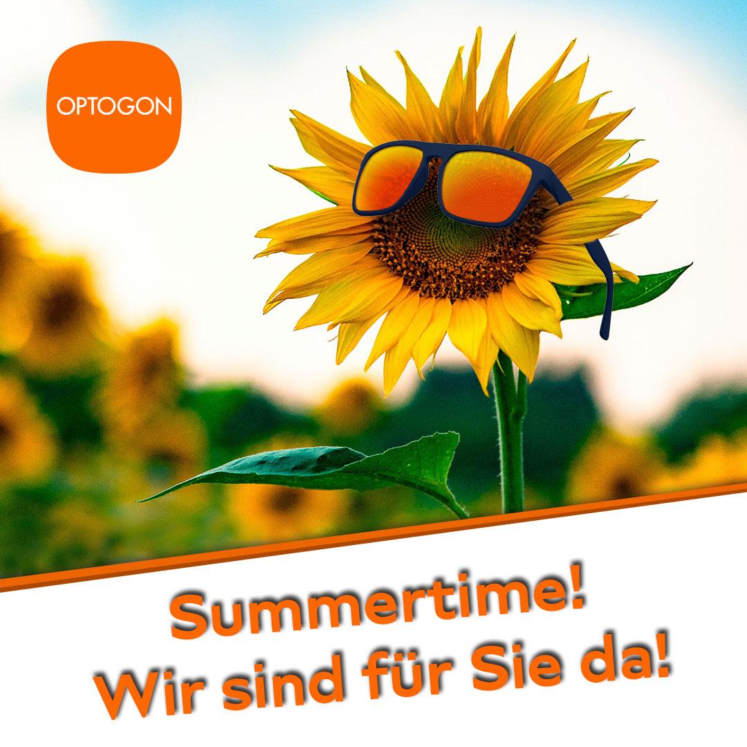 Summertime – Wir sind für Sie da!